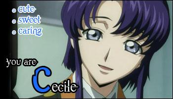 Quizz: quem é você em Code Geass? Cecile