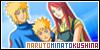 Namikaze Minato (the 4th Hokage), Uzumaki Kushina and Uzumaki Naruto