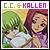 Code GEASS Hangyaku no Lelouch: C.C. &  Kozuki Karen (Kallen Stadtfeld)