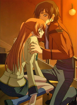 lelouch and shirley relationship